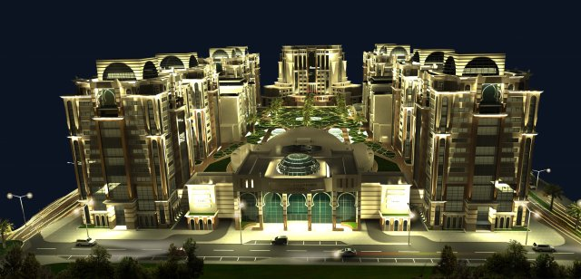 TRUST ALGERIA COMMMERCIAL AND RESIDENTIAL COMPLEX (CEZAYİR)